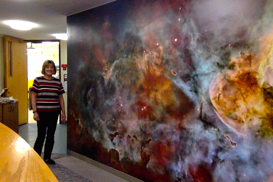 Wall Mural of a galaxy in Midland