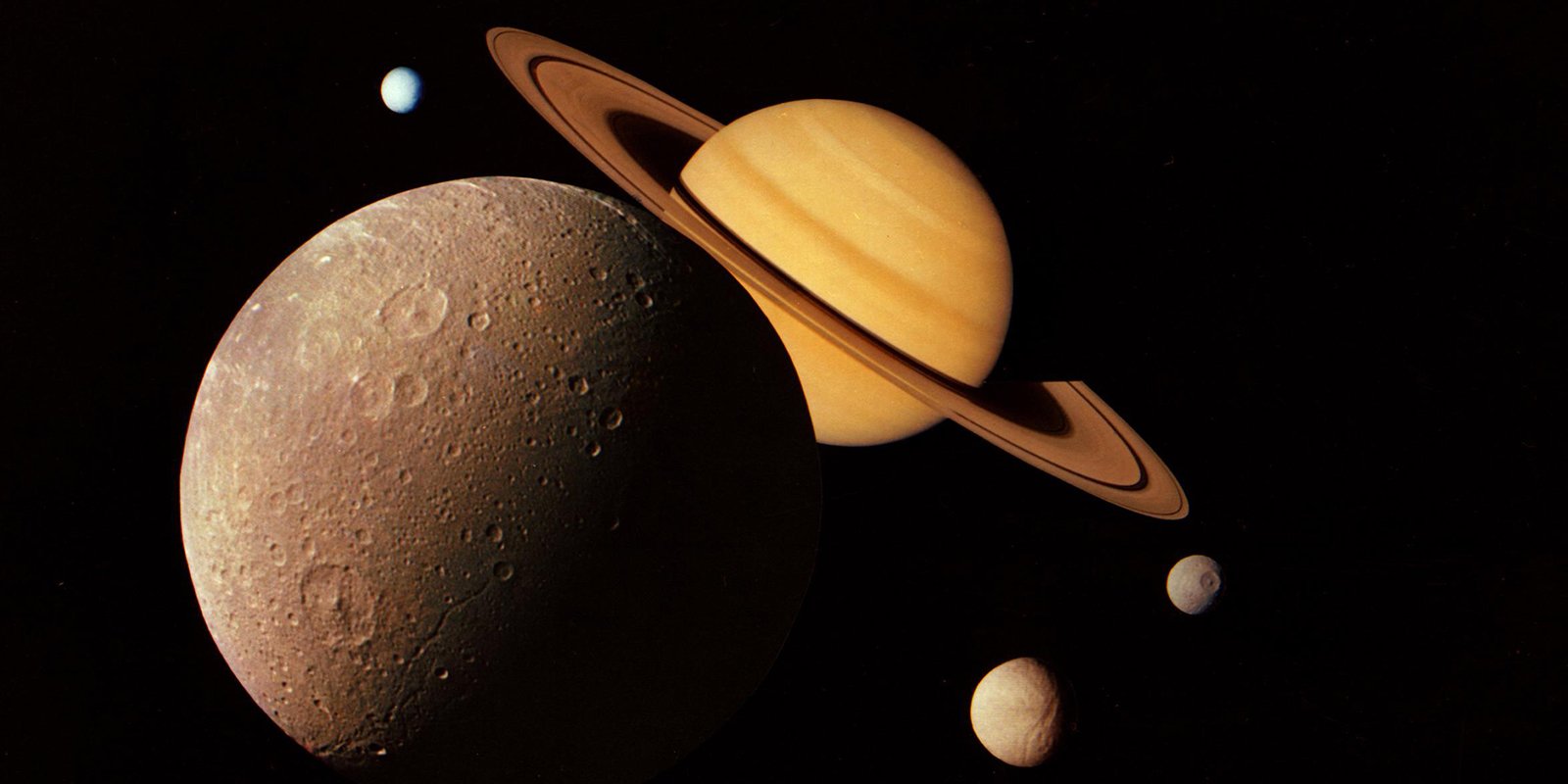Image of Saturn and system