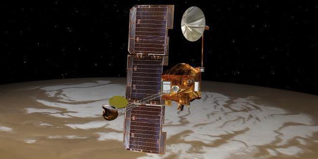 Image of 2001 Mars Odyssey