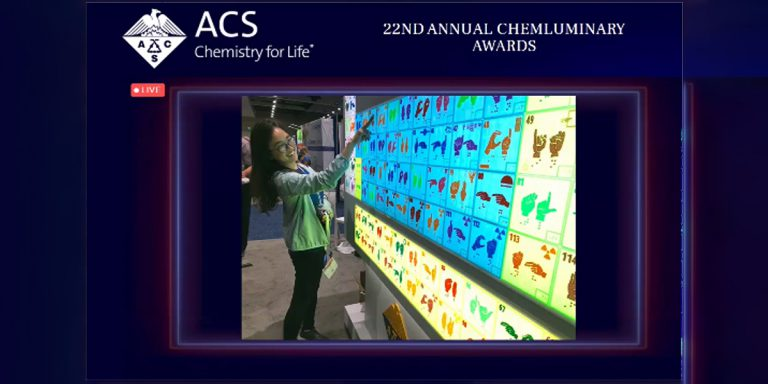 Image of ACS ChemLuminary Award for Periodic Table Project