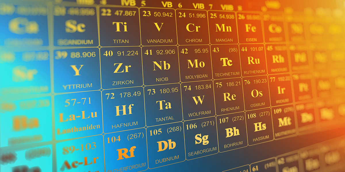 Image of periodic table of chemical elements