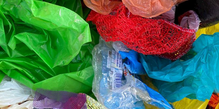 Image of plastic materials
