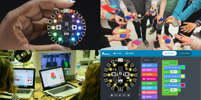 Adafruit CPX and 3D Design and Printing