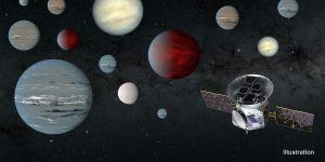 Artist rendering - Space Telescope Delivers the Goods: 2,200 Possible Planets