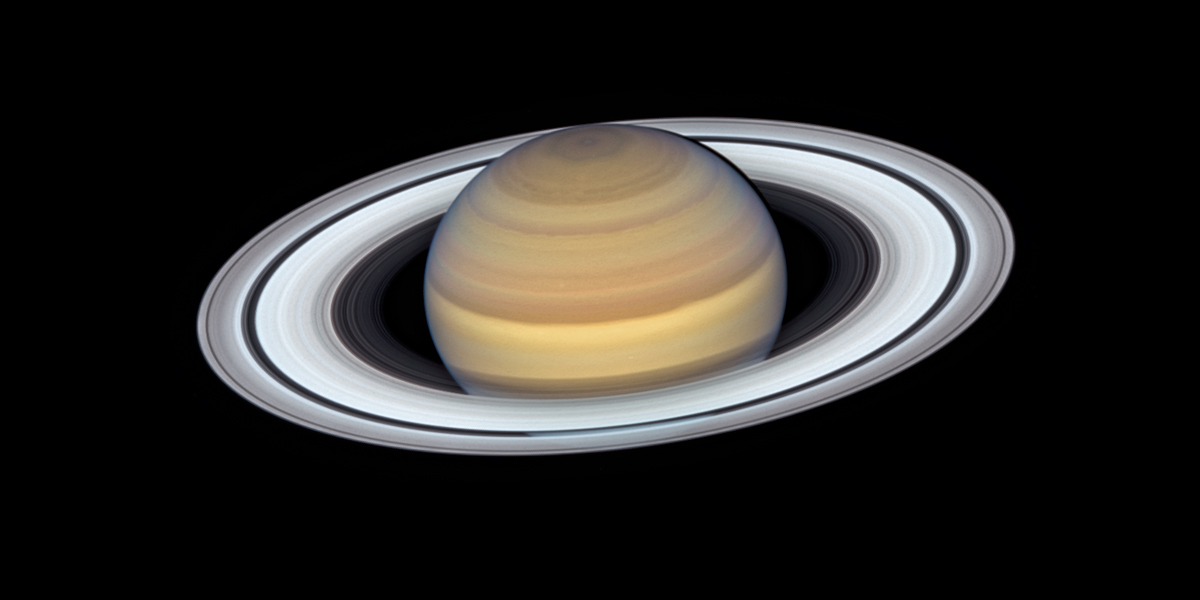 The latest view of Saturn from NASA's Hubble Space Telescope captures exquisite details of the ring system